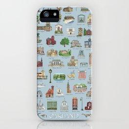 Oakland Landmarks iPhone Case