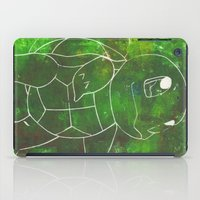 squirtle iPad Cases featuring Squirtle by pkarnold + The Cult Print Shop