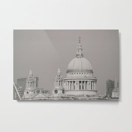 St. Pauls Cathedral London Metal Print