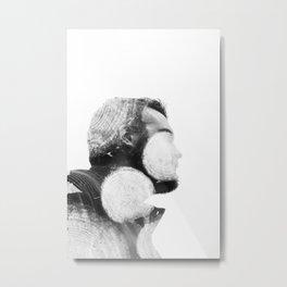 Woodsy Man Metal Print