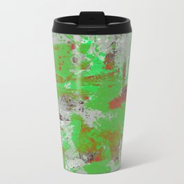 Express Yourself III - Abstract oil painting Travel Mug