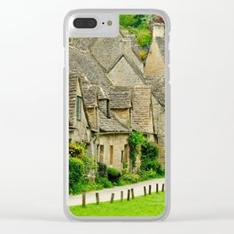 Little Village Clear iPhone Case