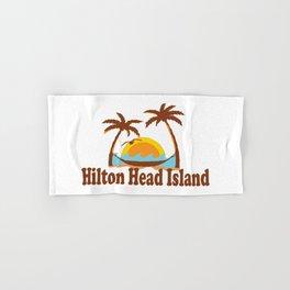 Hilton Head Island - South Carolina. Hand & Bath Towel