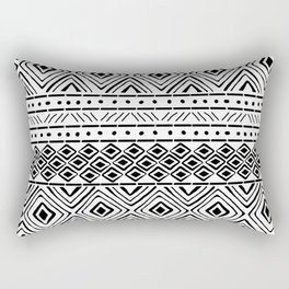 African Tribal Mudcloth Rectangular Pillow