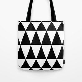 Triangle waves and swirls Tote Bag