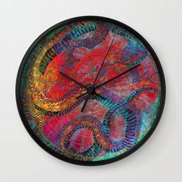 Chinese Dragon  Wall Clock