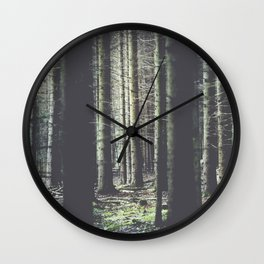 Forest feelings Wall Clock