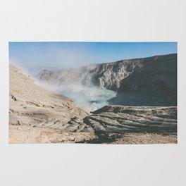 Ijen crater, Indonesia Rug