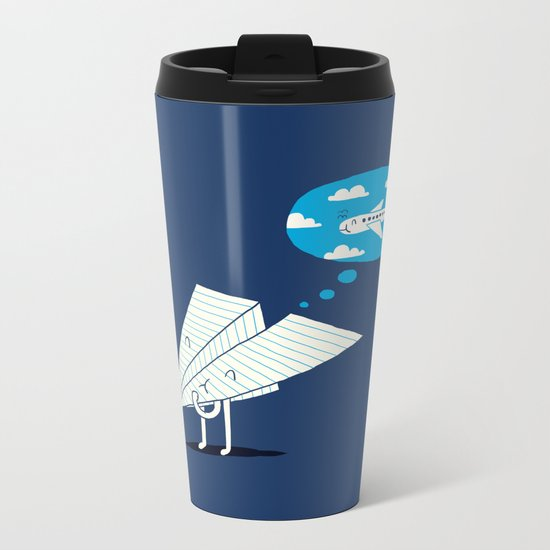 When I grow up Metal Travel Mug