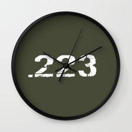 .223 Ammo Wall Clock