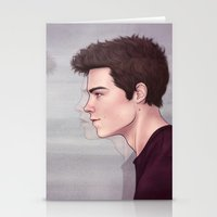 stiles stilinski Stationery Cards featuring Stiles by ribkaDory