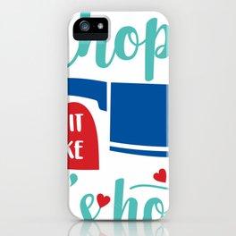 Chop It Like Its Hot Chef iPhone Case