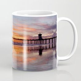 Surf City Sunsets 3/24/15     Huntington Beach Pier Coffee Mug