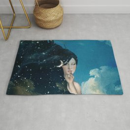 Shhh...Lady Night Is Coming Rug