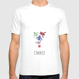 unique ad T-shirt