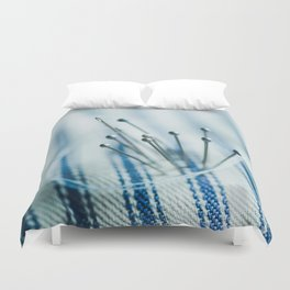 Pins and Needles Duvet Cover