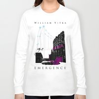 book cover Long Sleeve T-shirts featuring Emergence - Book Cover by svitka