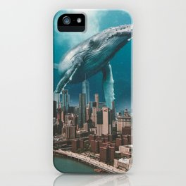 LONLEY VISITOR iPhone Case