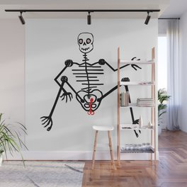 Skeleton Nono Male Wall Mural