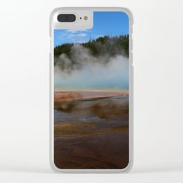 Like From An Alien World Clear iPhone Case