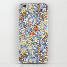William Morris Golden Lily Victorian Wallpaper iPhone Skin