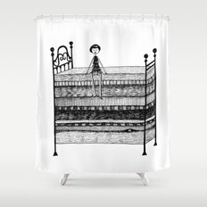 The Princess and the Pea Shower Curtain