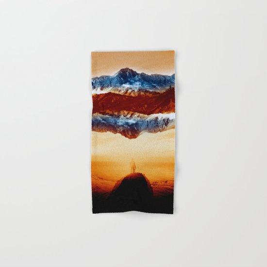 Vibrant Mountain Hand & Bath Towel