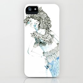 Water woman iPhone Case