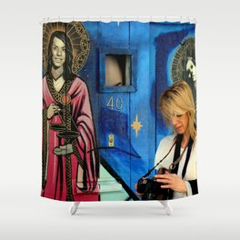 Life Begins At 40 Shower Curtain