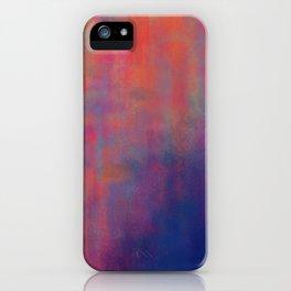 sunset pond iPhone Case