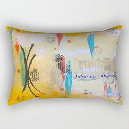 Jehova Shalom Rectangular Pillow