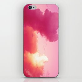 The battle of the light and shadow iPhone Skin