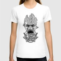gym T-shirts featuring GROOT GYM by ADAMLAWLESS