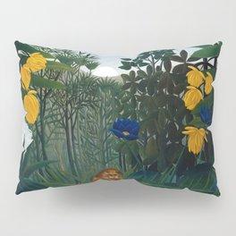 Henri Rousseau - The Repast of the Lion Pillow Sham