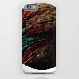Abstract Planet v4 iPhone Case