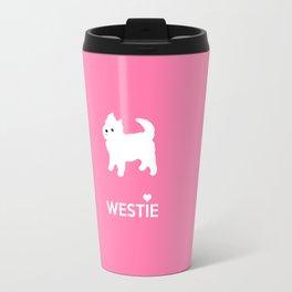 Cute Little Westie Travel Mug