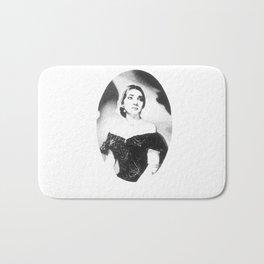 Maria Callas Bath Mat