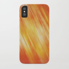 Fiery abstraction Slim Case iPhone X