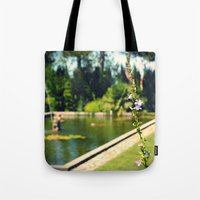 lonely Tote Bags featuring lonely by Mojca G. Vesel