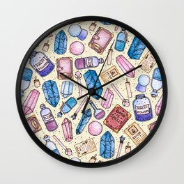 Witchy Stuff Wall Clock