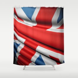 Flag of Great Britain Shower Curtain