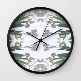 Forget Me Nots Study Wall Clock