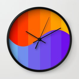 Sun & Sea Wall Clock