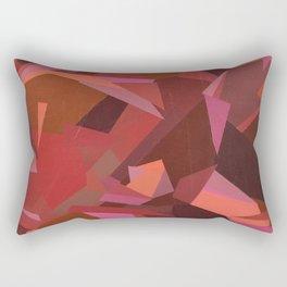 Warm Geoprint Rectangular Pillow