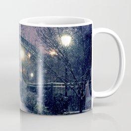 Winter Garden in the Snow Coffee Mug