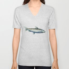 Houting - Some fishy business Unisex V-Neck