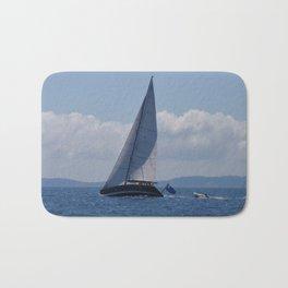 Modern Racing Yacht Bath Mat