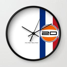 MICHAEL DELANEY  aka Steve McQueen - LeMans Livery Wall Clock