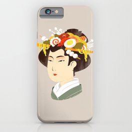 Japanese Delicacy iPhone Case