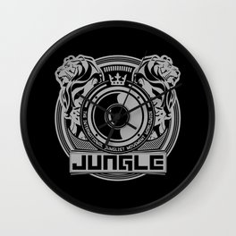 King Of The Jungle - Junglist Movement Worldwide Wall Clock